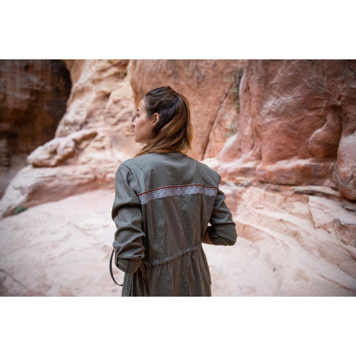 Sherpa Adventure Women's Kiran Jacket - Green
