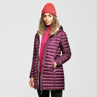 Peter Storm Women's Long Insulated Jacket - Purple