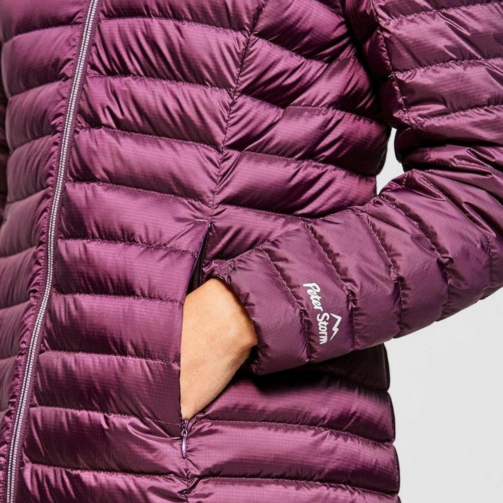 Peter Storm Women's Long Insulated Jacket - Purple