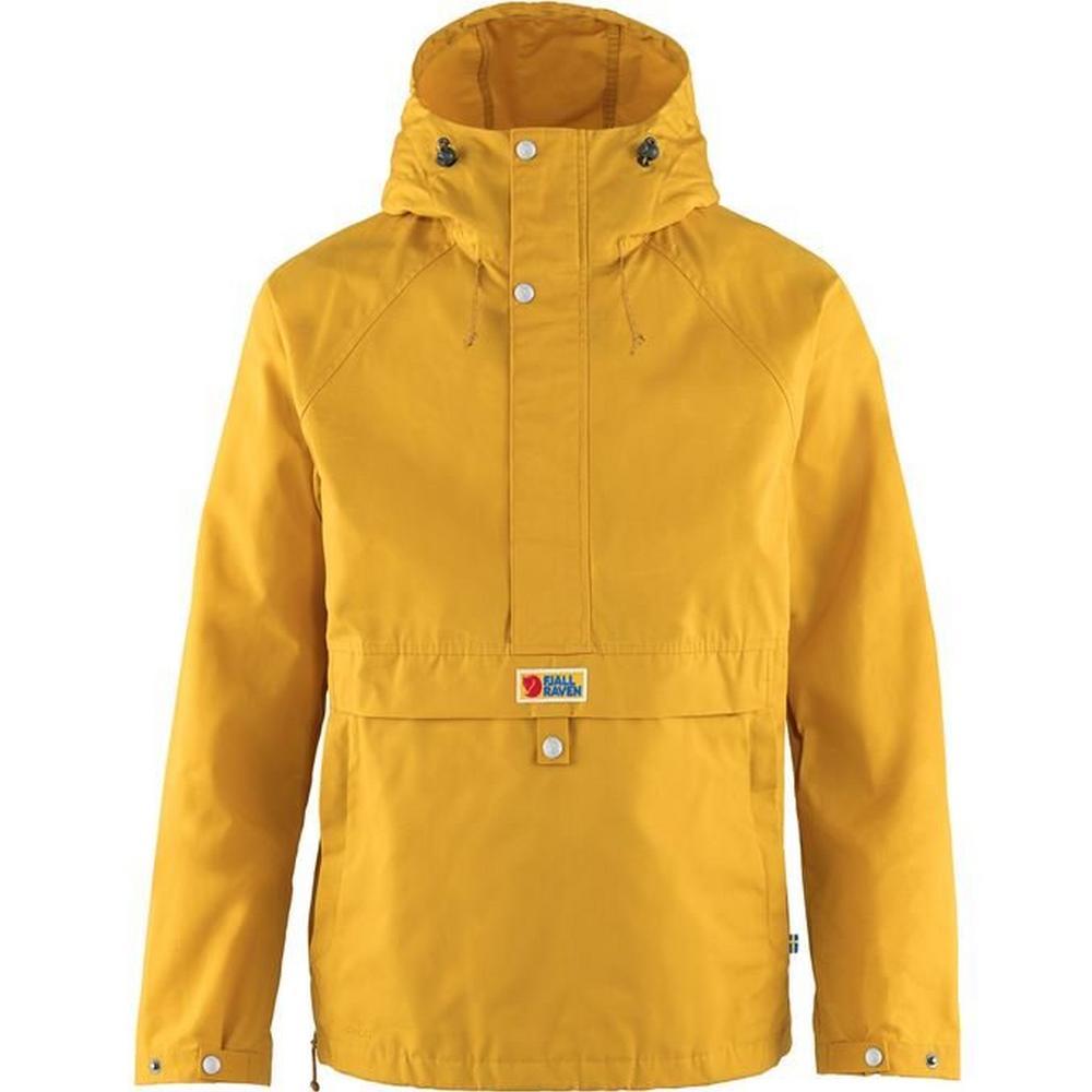 Fjallraven Men's Vardag Anorak - Yellow
