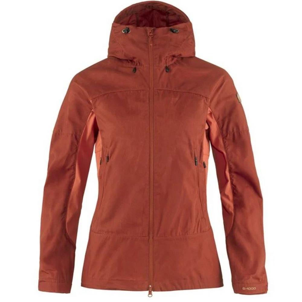 Fjallraven Women's Abisko Lite Trekking Jacket - Orange