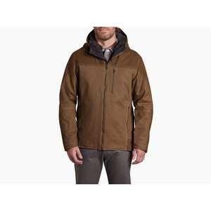 Men's Law Fleece Lined Hoody - Dark Khaki