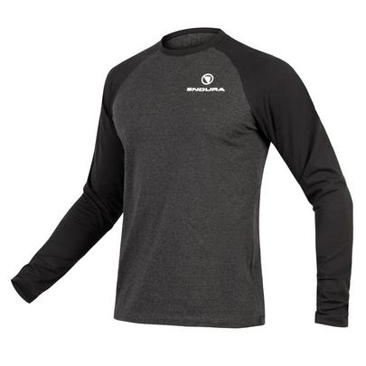 Endura Men's One Clan Raglan L/S - Grey