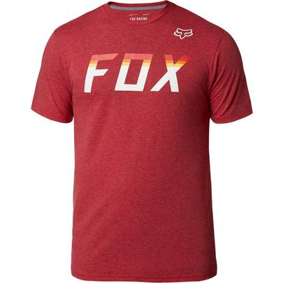 Fox Men's On Deck SS Tech Tee - Chili Red