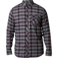 Men's Boedi Long Sleeve Flannel - Pewter