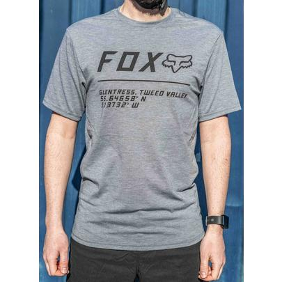 Fox Men's Glentress Custom Jersey - Grey