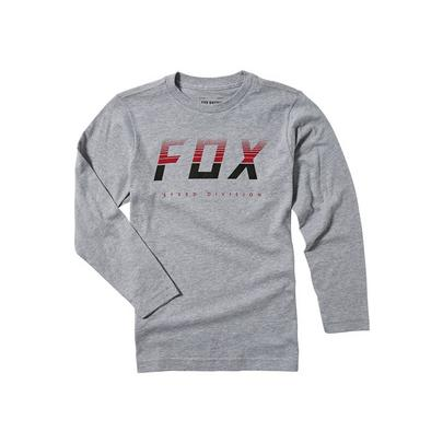 Fox Youth End of the Line L/S Tee - Grey