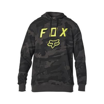 Fox Men's Legacy Moth Camo Pullover Hoodie - Black Camo