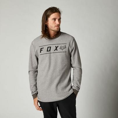 Fox Men's Pinnacle Long Sleeve Thermal - Heather Graphite