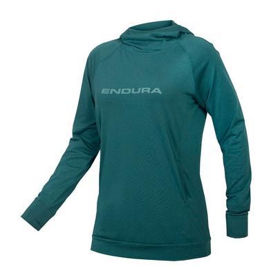 Endura Women's Singletrack Hoodie - Spruce Green