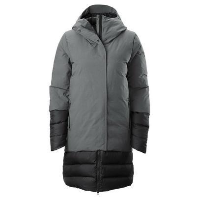 Kathmandu Women's Winterburn Overlay Down Coat - Grey