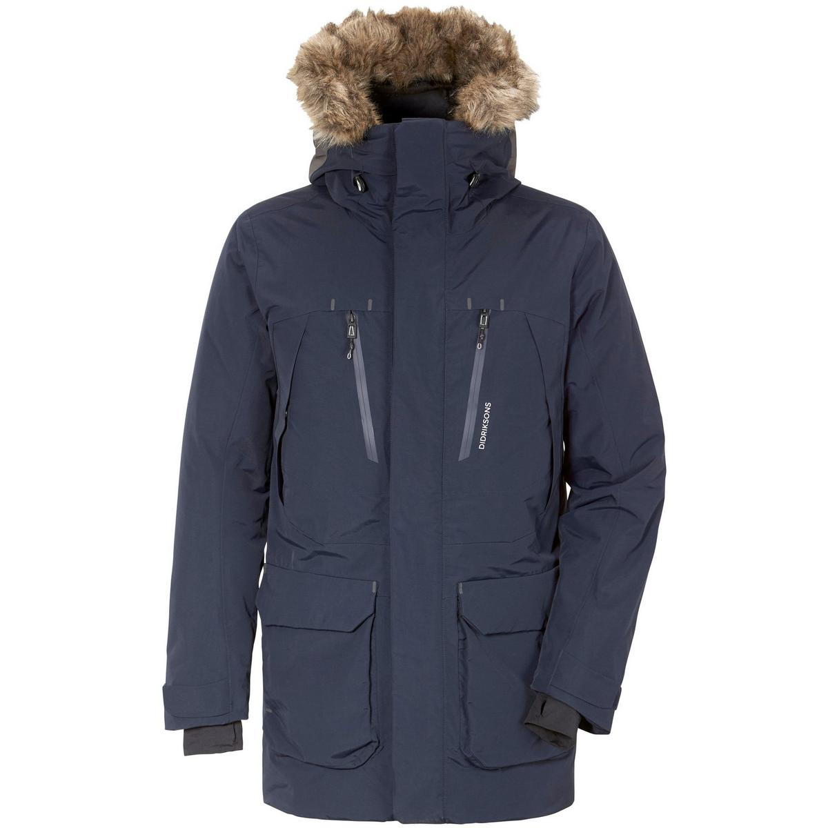 Didriksons Men's Marco Parka - Navy