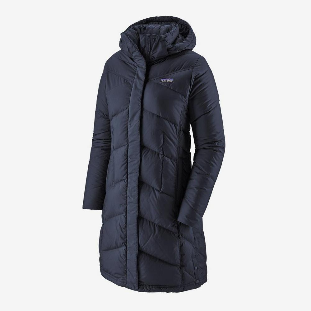 Patagonia Women's Patagonia Down With It Parka - Navy