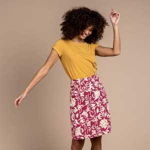Women's Padma Skirt - Red