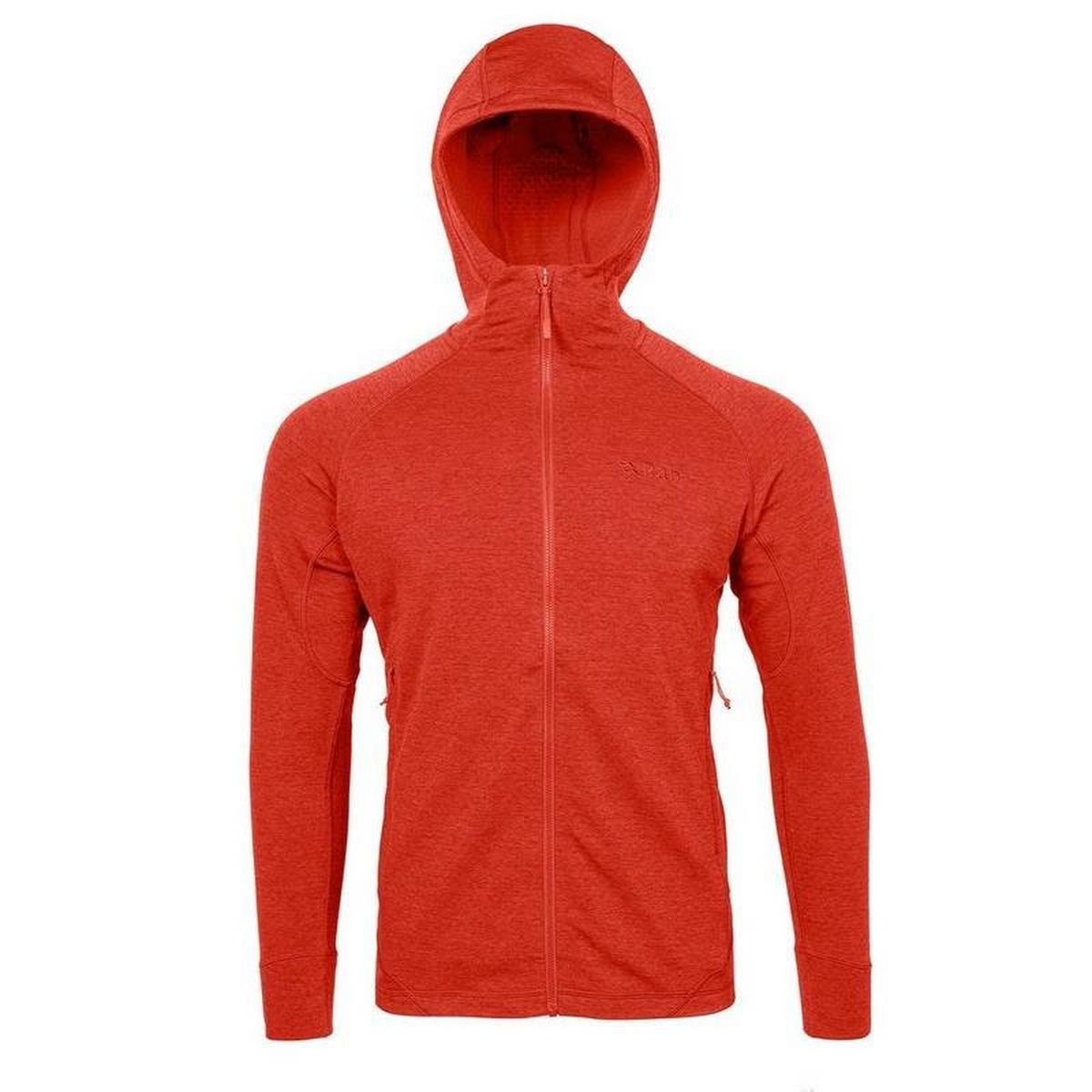 Rab Men's Rab Nexus Hooded Fleece Jacket - Orange