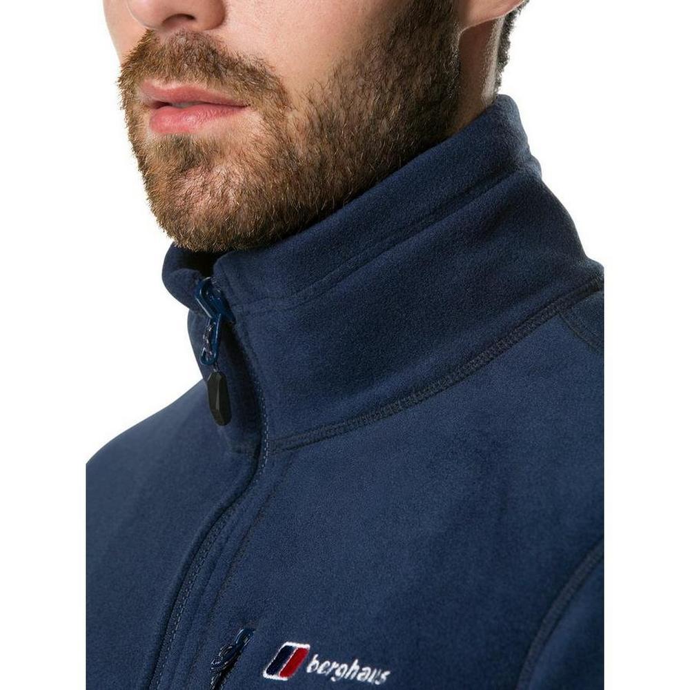 Berghaus Men's Berghaus Activity Interactive Fleece Jacket - Navy