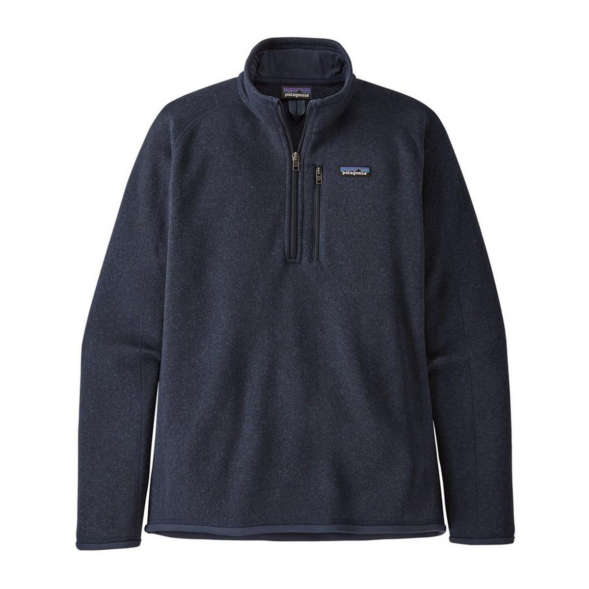 Patagonia Men's Patagonia Better Sweater Quarter Zip Fleece - Navy