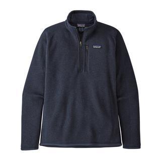 Men's Patagonia Better Sweater Quarter Zip Fleece - Navy