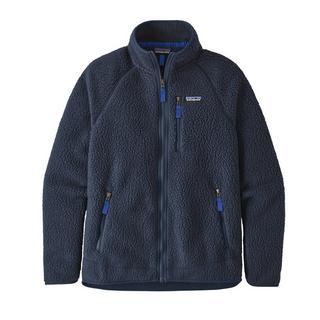Men's Patagonia Retro Pile Fleece Jacket - Navy