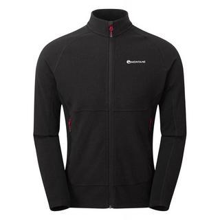 FLEECE Jacket Men's Pulsar Black/Alpine Red