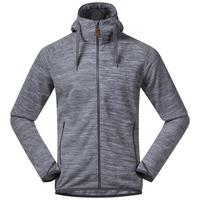Men's Hareid Fleece Hooded Jacket - Grey