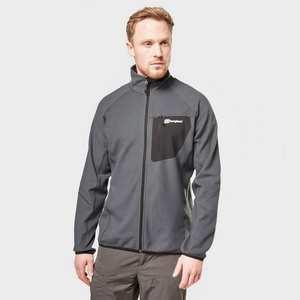 Men's Berghaus Kedron Full Zip Fleece - Black