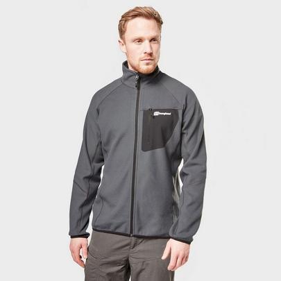 Berghaus Men's Kedron Full Zip Fleece - Grey