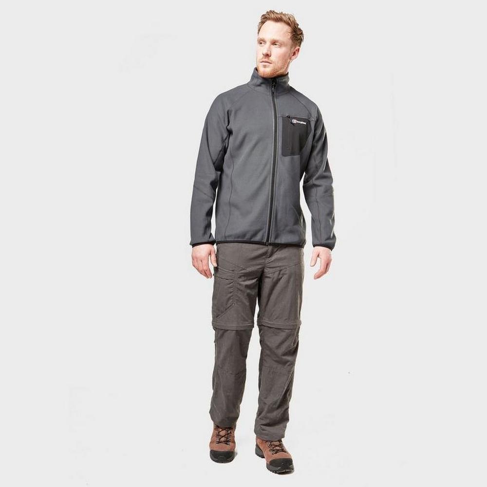 Berghaus Men's Berghaus Kedron Full Zip Fleece - Black