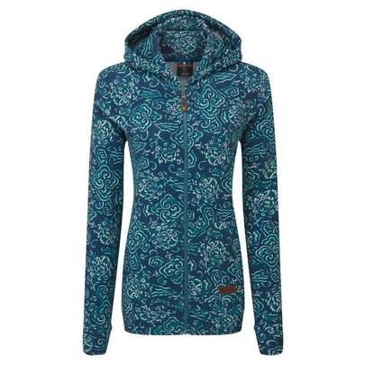 Sherpa Adventure Women's Meytho Full Zip Hoodie - Blue