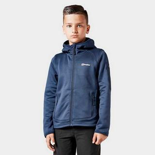 Kid's Pravitale Full-Zip Hoody- Navy