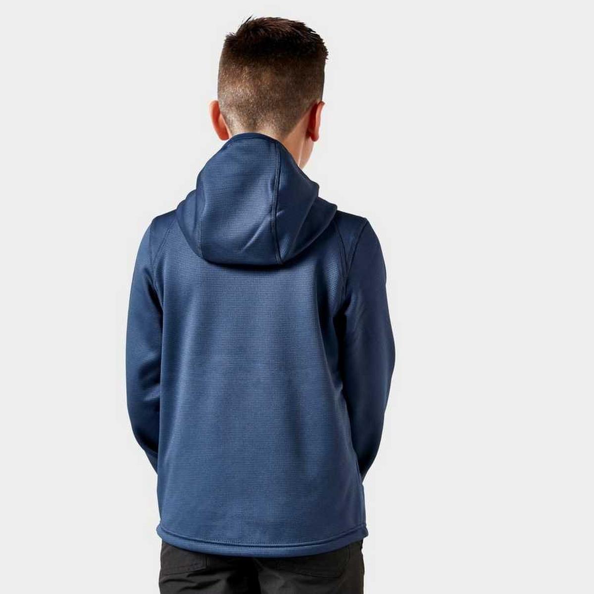 Berghaus Kid's Pravitale Full-Zip Hoody- Navy