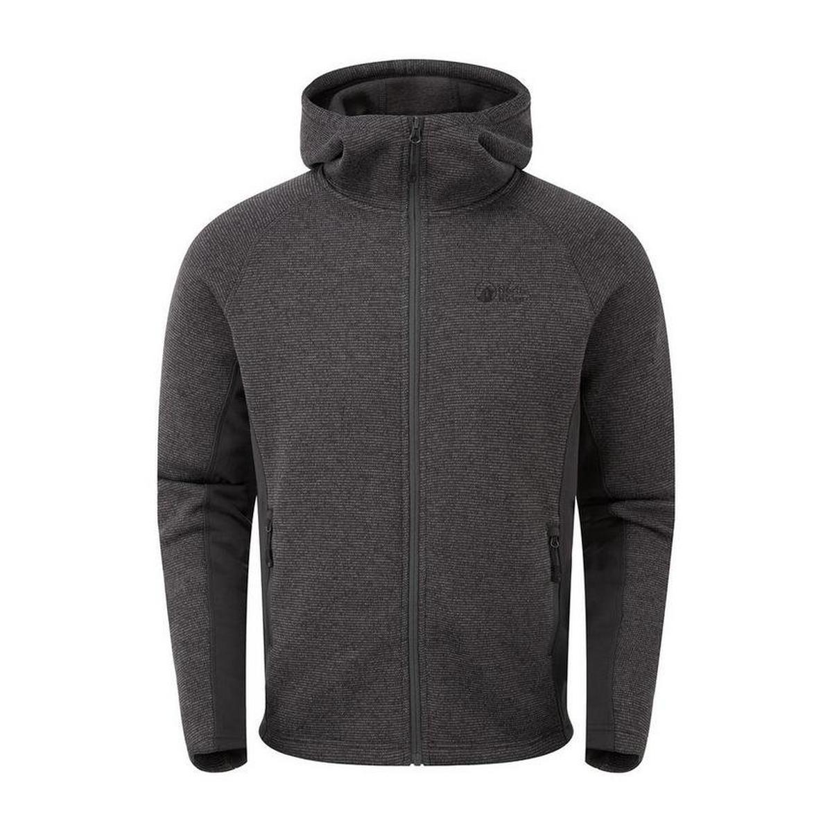 North Ridge Men's North Ridge Atlas Textured FZ Jacket - Grey