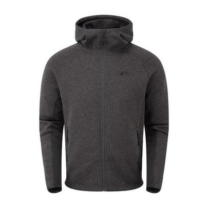 North Ridge Men's Atlas Textured Full Zip Fleece - Grey