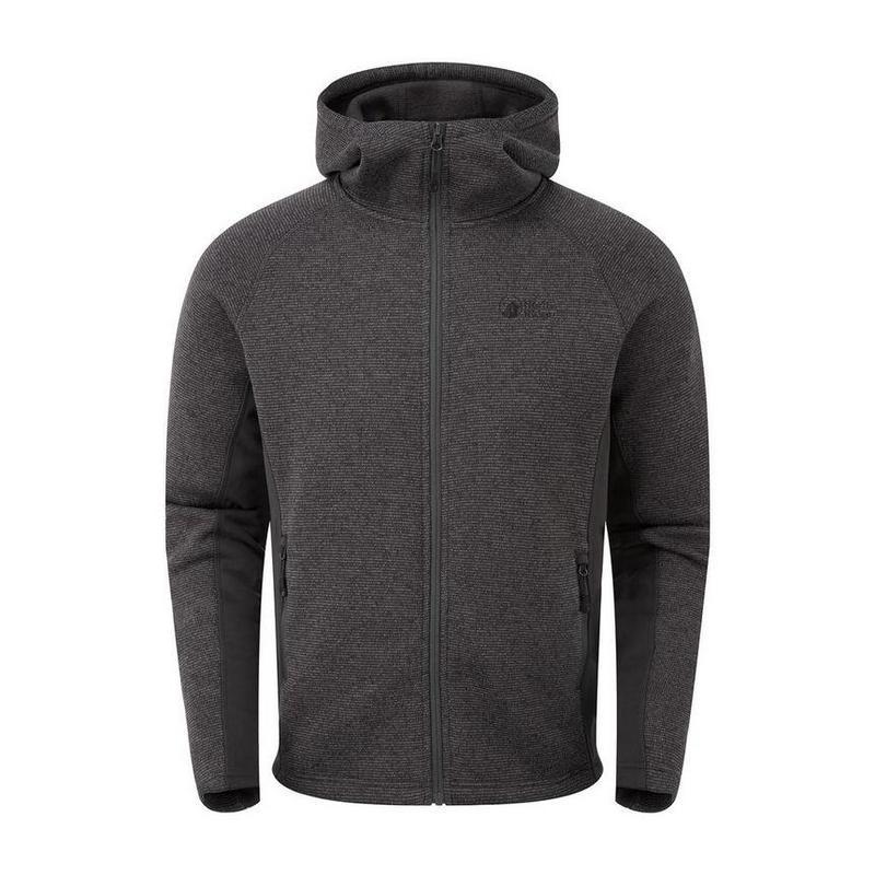 Men's North Ridge Atlas Textured FZ Jacket - Grey