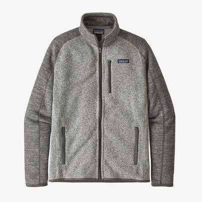 Patagonia Men's Better Sweater Fleece Jacket - Nickel/Forge Grey