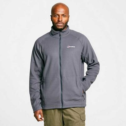 Berghaus Men's Hartsop Full Zip Fleece - Grey