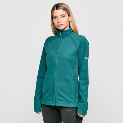 Berghaus Women's Hartsop Full Zip Fleece - Green