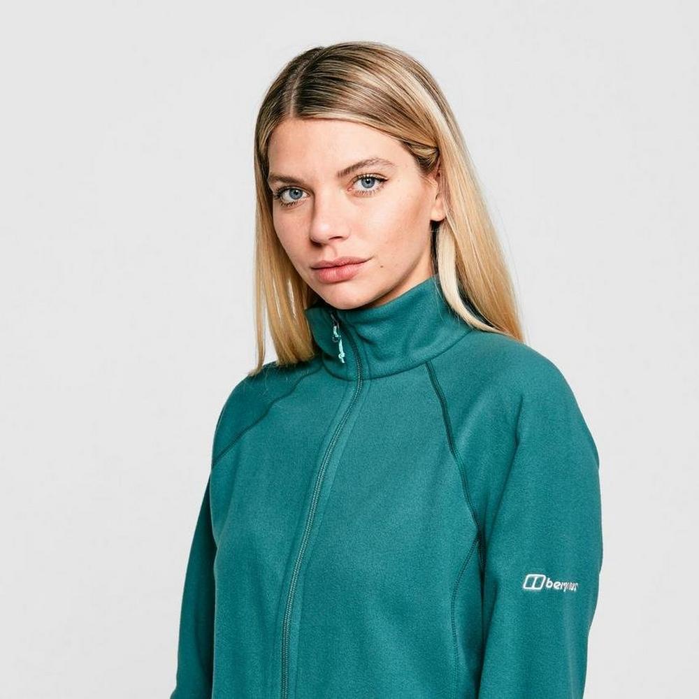 Berghaus Women's Berghaus Hartsop Full Zip Fleece - Green