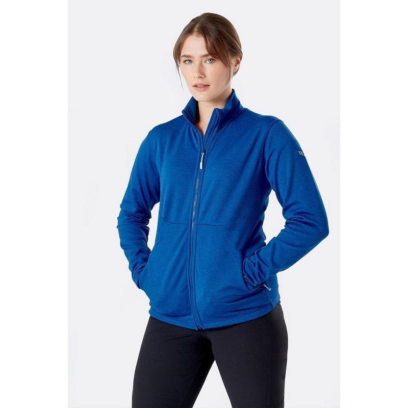 Women's Rab Geon Fleece Jacket - Blue