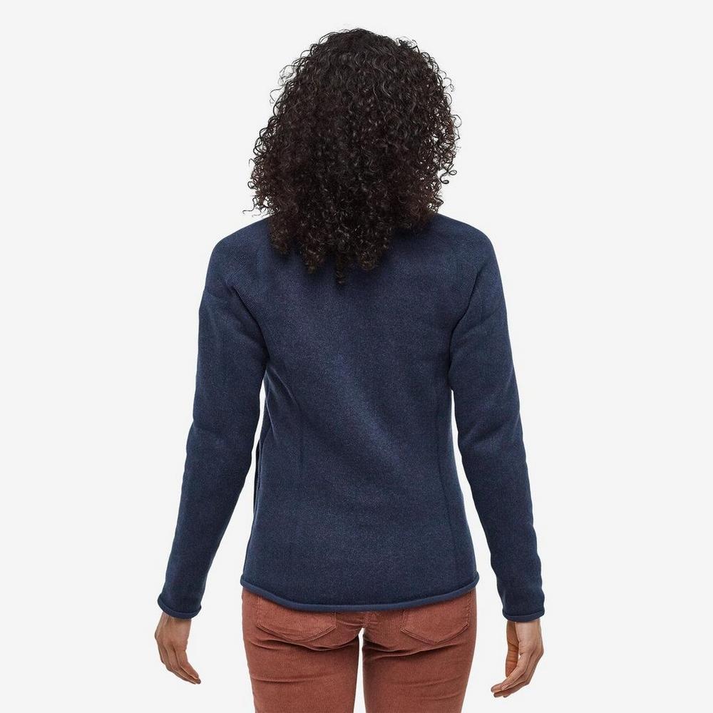 Patagonia Women's Patagonia Better Sweater Jacket - Navy