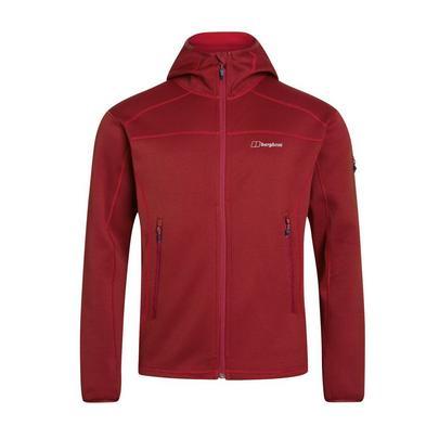 Berghaus Men's Pravitale 2.0 Hooded Fleece - Red