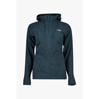 The North Face Women's Mezzaluna Full Zip Hoodie - Blue