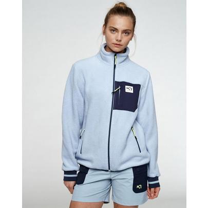 Kari Traa Women's Rothe FZ Fleece - Grey