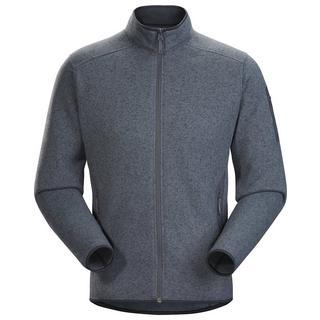 Men's Covert Cardigan - Grey