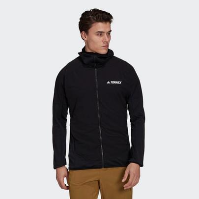 adidas Terrex Men's Skyclimb Fleece Jacket - Black
