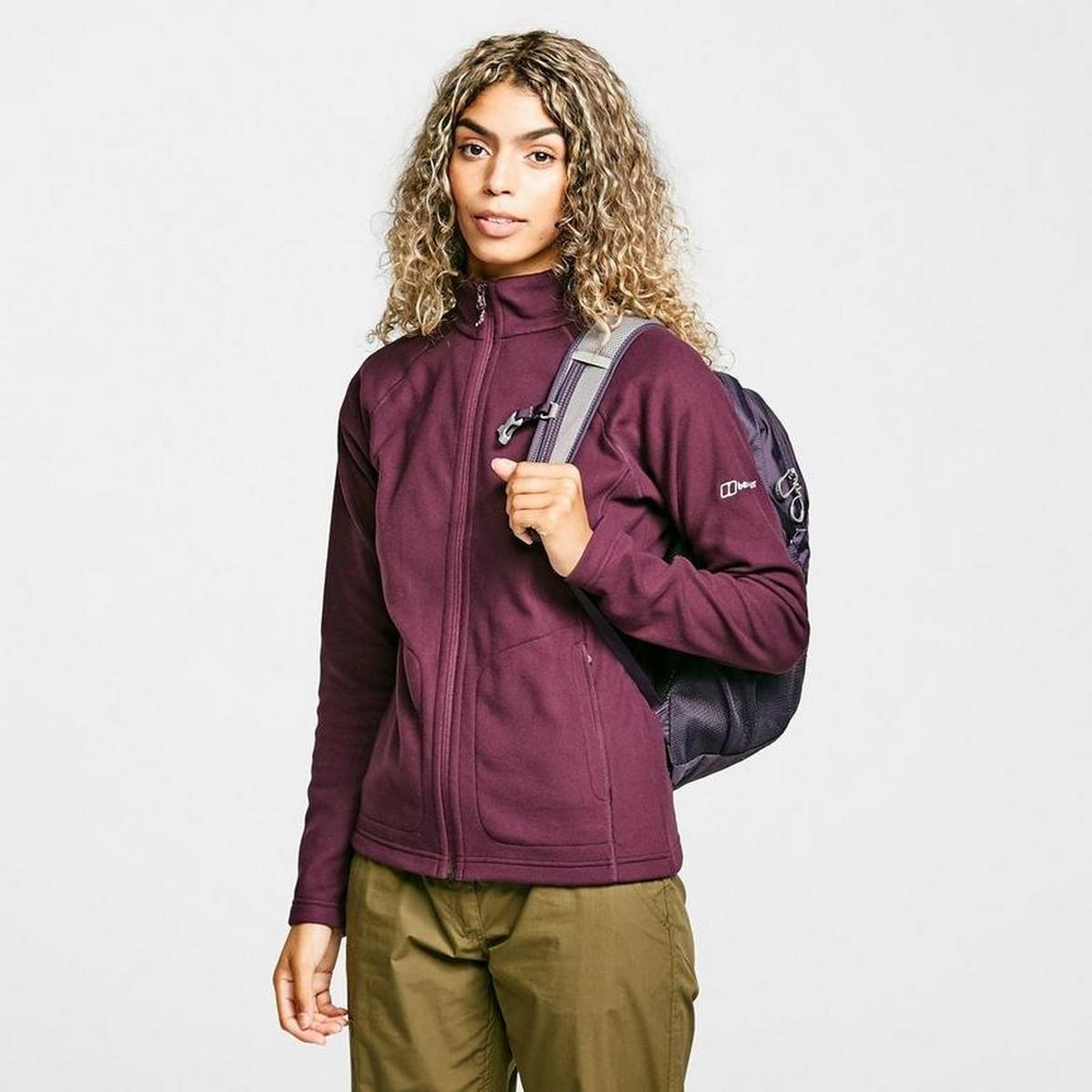 Berghaus Women's Hartsop Full-Zip Fleece - Purple