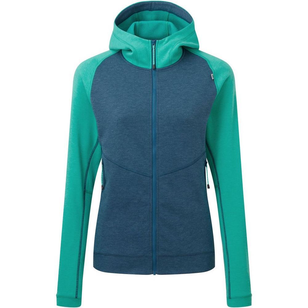 Mountain Equipment Women's Fornax Hooded Jacket - Majolica Blue Green