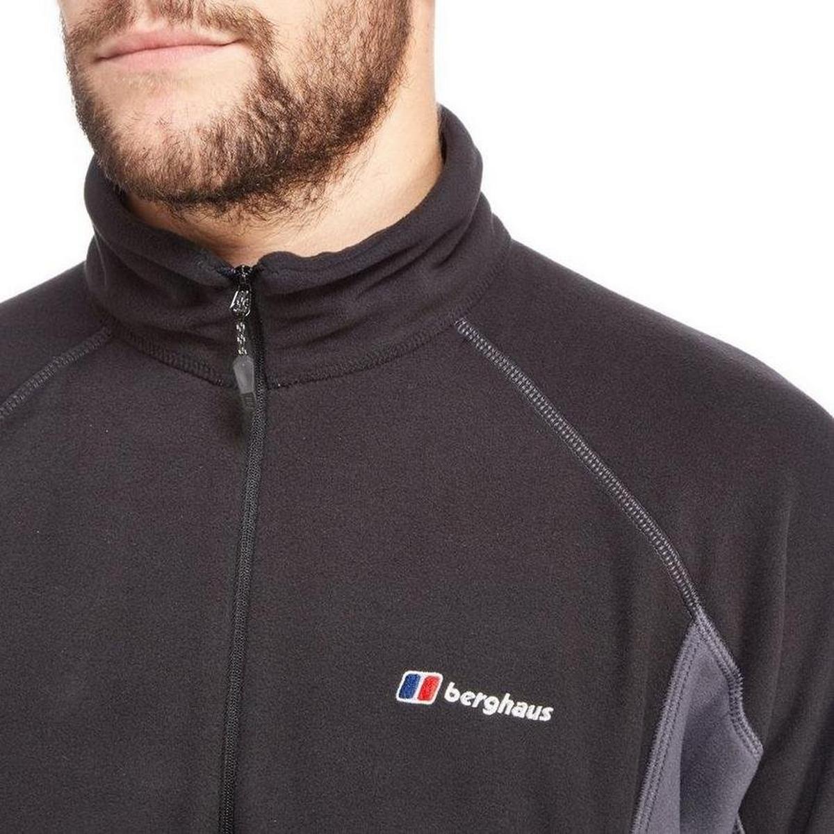 Berghaus Men's Berghaus Hartsop Half-Zip Fleece - Black Carbon