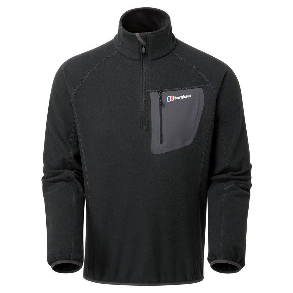 Berghaus Men's Berghaus Kedron Half Zip Fleece - Black