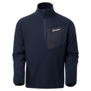 Men's Berghaus Kedron Half Zip Fleece - Navy